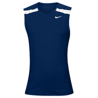 Nike Team Power Stock Race Day Tank - Men's - Navy / White
