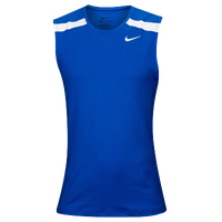 Nike Team Power Stock Race Day Tank - Men's - Blue / White