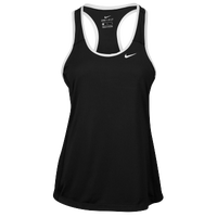 Nike Team Dry Tank - Women's - Black / White