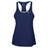 Nike Team Dry Tank - Women's - Navy / White