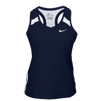 Nike Team Power Stock Race Day Tank - Women's - Navy / White