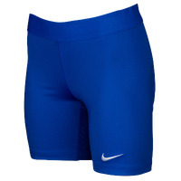 Nike Team Power Stock Race Day Tight Half - Women's - Blue / Blue