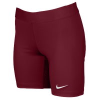 Nike Team Power Stock Race Day Tight Half - Women's - Cardinal / Cardinal