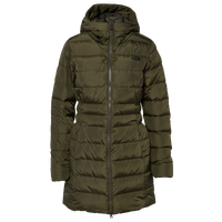 The North Face Gotham Long Parka II - Women's - Olive Green / Olive Green