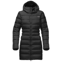 The North Face Gotham Long Parka II - Women's - All Black / Black