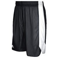 adidas Team Crazy Explosive Reversible Shorts - Boys' Grade School - Black / White