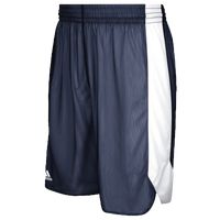 adidas Team Crazy Explosive Reversible Shorts - Boys' Grade School - Navy / White