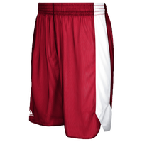 adidas Team Crazy Explosive Reversible Shorts - Boys' Grade School - Red / White