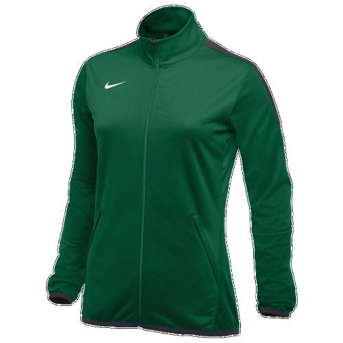 Nike Team Epic Jacket - Women's Basketball - Dark Green/Anthracite/White 36119361