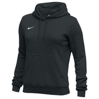 Nike Team Club Fleece Hoodie - Women's - All Black / Black
