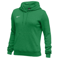 Nike Team Club Fleece Hoodie - Women's - Green / Green