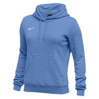 Nike Team Club Fleece Hoodie - Women's - Light Blue / Light Blue