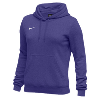 Nike Team Club Fleece Hoodie - Women's - Purple / Purple