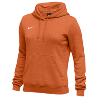 Nike Team Club Fleece Hoodie - Women's - Orange / Orange