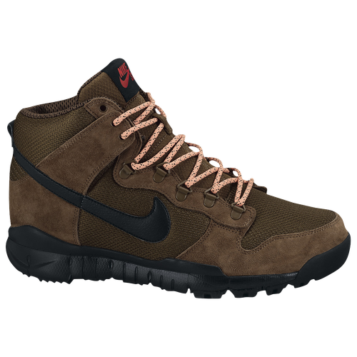 the latest 364fa eb11b ... r r boot black sail ale brown 806335 012 d44be 87269  coupon for nike  sb dunk high boots mens skate shoes military brown dark khaki black 3f50f
