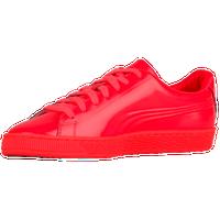 PUMA Basket - Men's - Red / Red