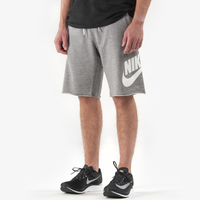 Nike GX Alumni Shorts - Men's - Grey / White