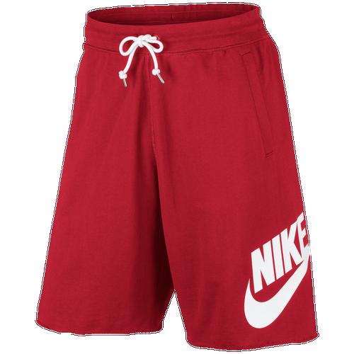 Cortocircuitos Rojos Nike Hombres