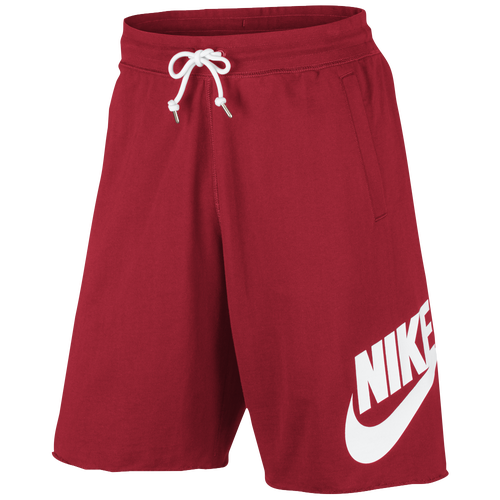 Nike GX Shorts - Men's Casual - University Red/White 36277657