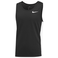 Nike Team Dry Miler Tank - Boys' Grade School - Black