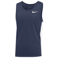 Nike Team Dry Miler Tank - Boys' Grade School - Navy