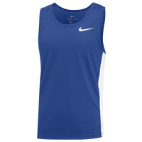 Nike Team Dry Miler Tank - Boys' Grade School - Blue