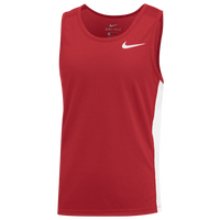 Nike Team Dry Miler Tank - Boys' Grade School - Red