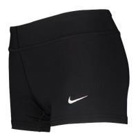 Nike Team Performance Game Shorts - Girls' Grade School - All Black / Black