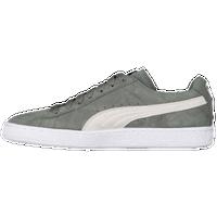 PUMA Suede Classic - Men's - Grey / Off-White