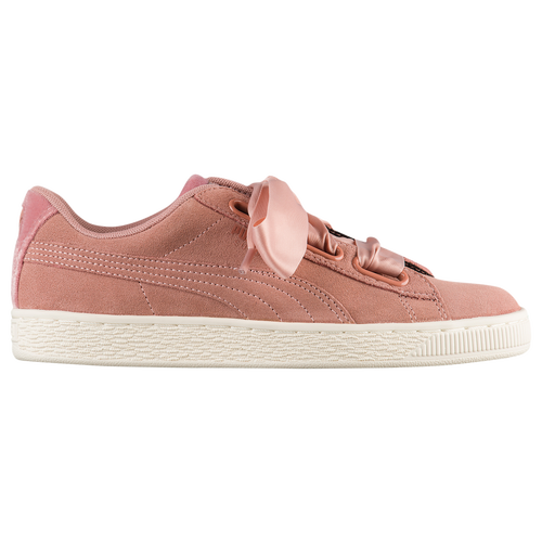 puma shoes pink. puma suede heart - women\u0027s pink / puma shoes n
