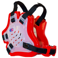 Cliff Keen F5 Tornado Headgear - Men's - Clear / Red
