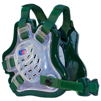 Cliff Keen F5 Tornado Headgear - Men's - Clear / Dark Green