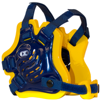 Cliff Keen F5 Tornado Headgear - Men's - Navy / Gold