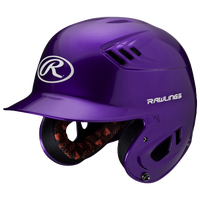 Rawlings Coolflo R16 Senior Batting Helmet - Men's - Purple / White