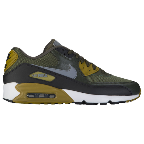 Nike Air Max 90 - Men's - Casual - Shoes - Cargo Khaki/Cool  Grey/Black/Sequoia