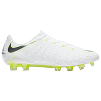 Nike Hypervenom Phantom 3 Elite FG - Men's - White / Light Green