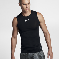 Nike Pro Compression Sleeveless - Men's - Black