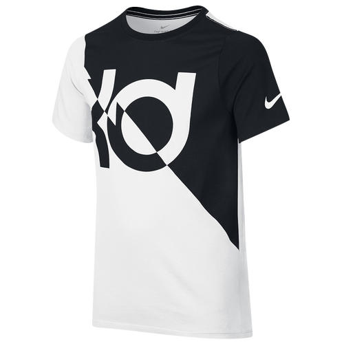 Nike KD Graphic Dri-FIT T-Shirt - Boys Grade School - Basketball -  Clothing - Kevin Durant - WhiteBlack