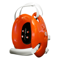 Cliff Keen Two Slot Strap Holder - Orange / White