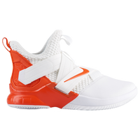Nike LeBron Soldier XII - Men's -  Lebron James - White / Orange
