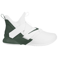 Nike LeBron Soldier XII - Men's -  Lebron James - White / Dark Green