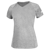 adidas Team Climalite T-Shirt - Women's - Grey / Grey