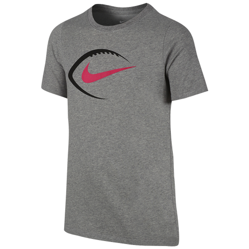 Nike graphic football t shirt boys 39 grade school for Boys soccer t shirts
