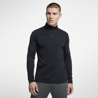 Nike Academy 1/4 Zip Top - Men's - All Black / Black