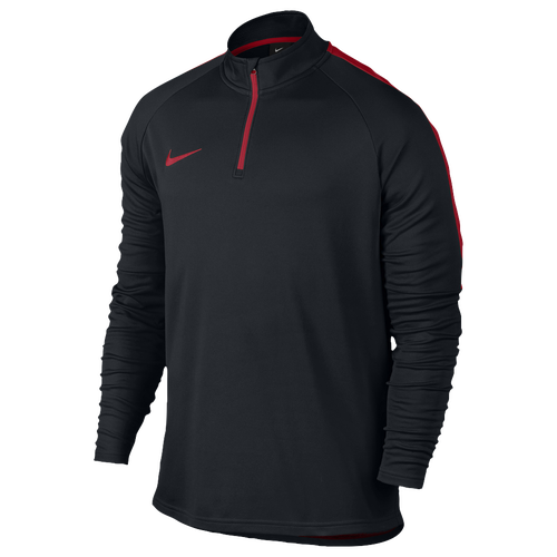 Nike Academy 1/2 Zip Top - Men's Soccer - University Red/White