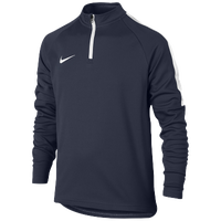 Nike Academy 1/2 Zip Top - Grade School - Navy / White