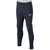 Nike Academy Knit Pants - Grade School - Navy / White