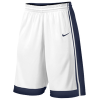 Nike Team National Varsity Shorts - Men's - White / Navy