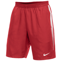 Nike Team Court Dry Shorts - Men's - Red / White