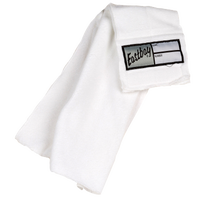 Eastbay Football Belt Towel 3.0 - Adult - All White / White